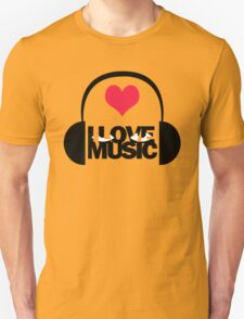 i love music T-Shirt