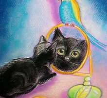 Little OJ... mirror.. :)) by karina73020