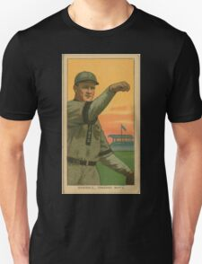 Benjamin K Edwards Collection Orval Overall Chicago Cubs baseball card portrait 002 Unisex T-Shirt