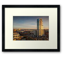 Bridgewater Place and the View to the South Framed Print