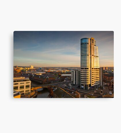 Bridgewater Place and the View to the South Canvas Print