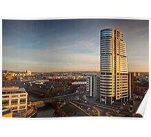 Bridgewater Place and the View to the South Poster