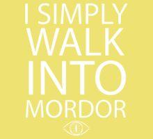 I simply walk into Mordor Kids Clothes