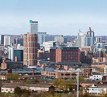 Leeds Skyline by Ian Wray