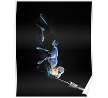 Juggling Smoke Poster