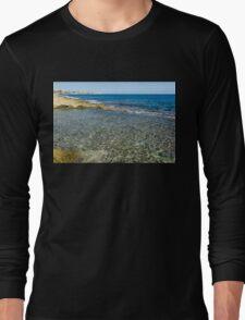 Mediterranean Delight - Maltese Natural Beach Pool Long Sleeve T-Shirt