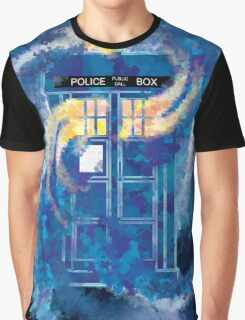 TARDIS Doctor Who Police Box Graphic T-Shirt