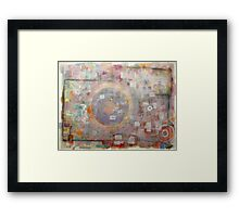 Radio Live Transmitted Show Framed Print