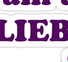 I am a BELIEBER Sticker
