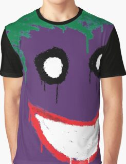 Joker Graffiti Graphic T-Shirt