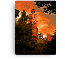 Portmeirion  Bell Tower Canvas Print