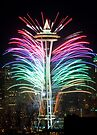 Seattle New Year by Inge Johnsson