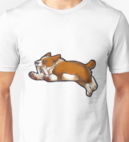 Saber Corgi Unisex T-Shirt