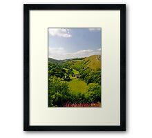 Upperdale from Monsal Head  Framed Print