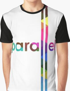 Parallel Lines Never Meet Graphic T-Shirt