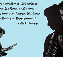 Nick Jonas Quote by devonjoelle2596