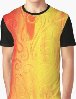 Dancing Flame Graphic T-Shirt