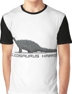 Pixel Scelidosaurus Graphic T-Shirt