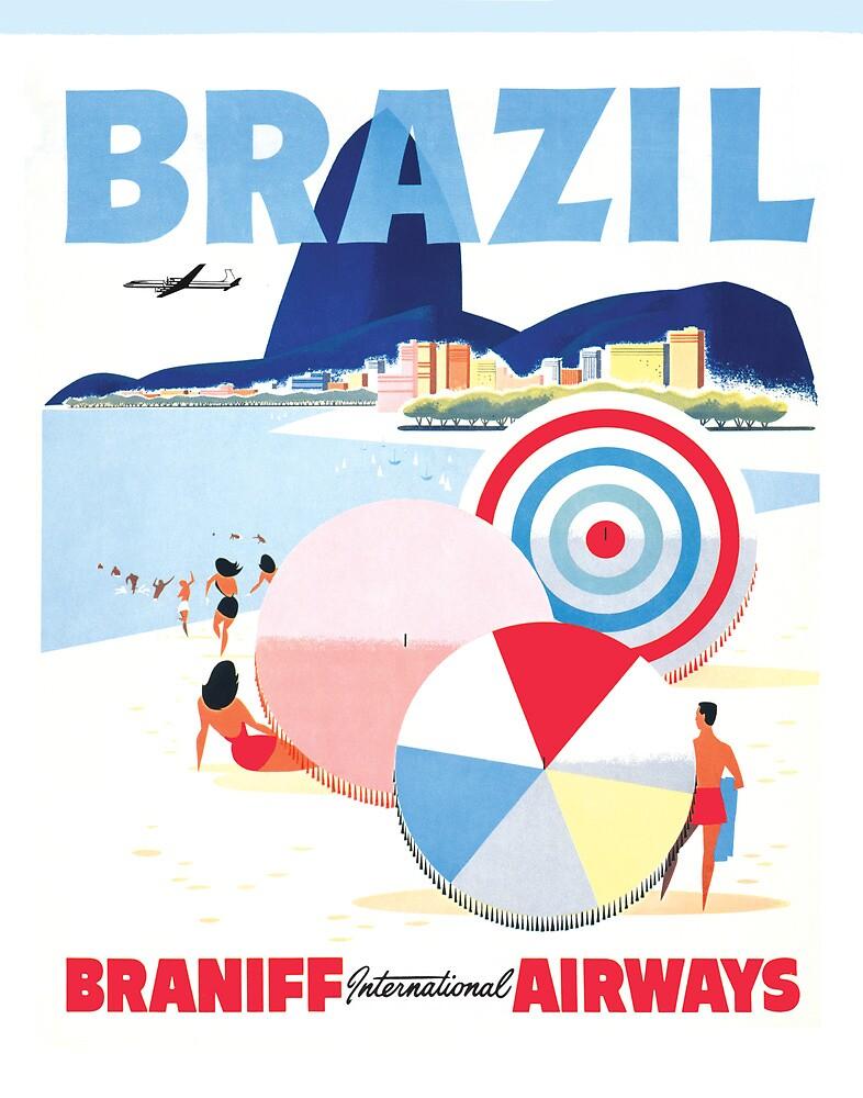 Braniff Brazil 1 by Jeff Vorzimmer