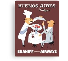 Braniff Buenos Aires 1 Canvas Print