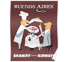 Braniff Buenos Aires 1 Poster