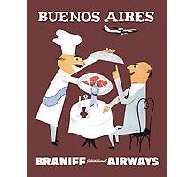 Braniff Buenos Aires 1 Photographic Print