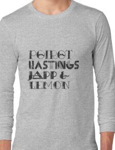 The Belgian Team! Long Sleeve T-Shirt