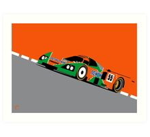 Mazda 787B 1991 Le Mans 24hr Winner Art Print