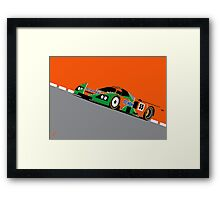 Mazda 787B 1991 Le Mans 24hr Winner Framed Print