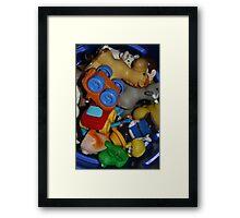 toys toys toys Framed Print