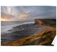 Glamorgan Heritage Coast, Nash Point Poster