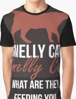 Smelly Cat - Friends Graphic T-Shirt
