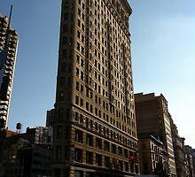 Flatiron Building New York City by kaisarton