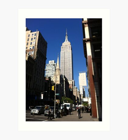 Empire State Building New York City Art Print
