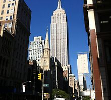 Empire State Building New York City by kaisarton