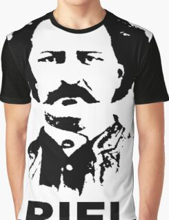 Louis RIEL - Canadian Icon Graphic T-Shirt