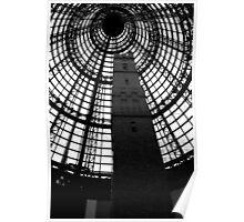 Melbourne Architecture in Black & White Poster