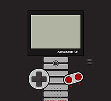 Gameboy Advance SP - Nes Edition ! by Venum Spotah