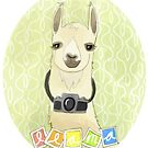 Llama by nearsightedowl