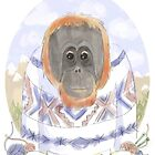 Orangutan by nearsightedowl