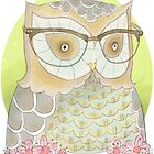Owl by nearsightedowl