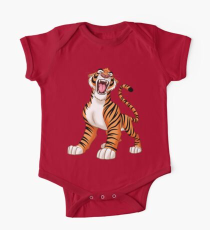 Tiger! One Piece - Short Sleeve