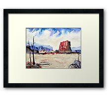 Southwest Colors Framed Print