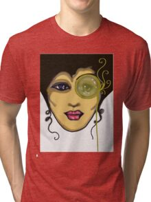 SteamPunk Beauty 2 Tri-blend T-Shirt