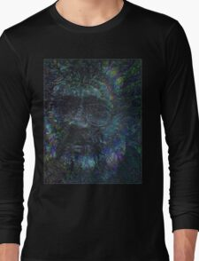 Terence McKenna Tribute Poster 02 Long Sleeve T-Shirt