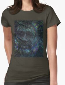 Terence McKenna Tribute Poster 02 Womens Fitted T-Shirt