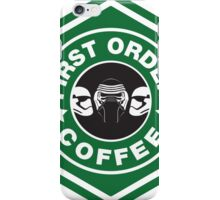 First Order Coffee iPhone Case/Skin