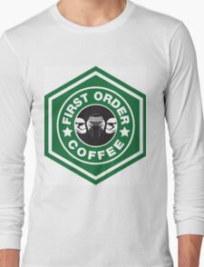 First Order Coffee Long Sleeve T-Shirt