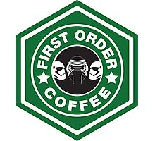 First Order Coffee Photographic Print