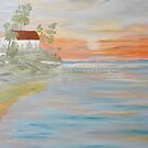 Reflections of Sunset  by Phyllis Frameli